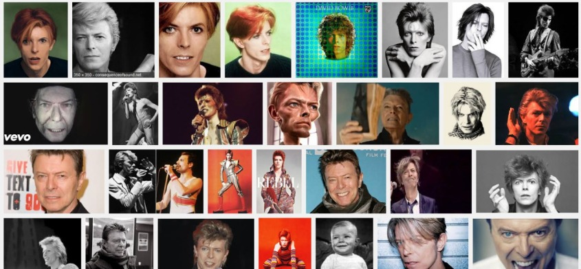 4 decades of bowie